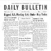 Daily Bulletin - Biggest AA Meeting Gets Underway
