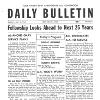 Daily Bulletin - Fellowship Looks Ahead to Next 25 Years