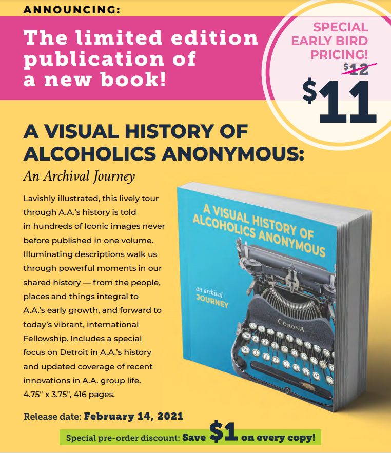 A Visual History of AA - An Archival Journey - PREORDER